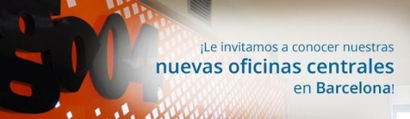 Te invitamos a conocer nuestras nuevas oficinas centrales en Barcelona